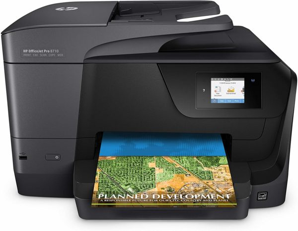 HP OfficeJet Pro 8710-D9L18A Wireless/Print/Scan/Copy/Fax All-in-One Printer