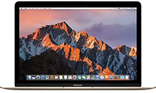Apple MacBook MNYK2 Laptop - Intel Core m3, 1.2Ghz Dual Core, 12-Inch Retina, 256GB SSD, 8GB, English-Arabic Keyboard, Mac OS Sierra, Gold - Middle East Version