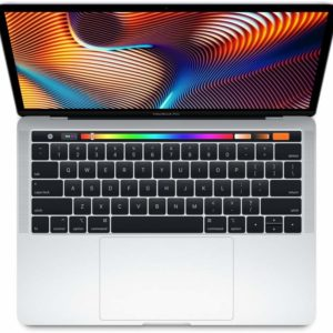Apple MacBook Pro (13-Inch, Intel Core i5, 2.3Ghz, 8GB, 256GB, Touch Bar, 4 Thunderbolt3 Ports, MRU92), Eng KB, Silver