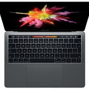 Apple MacBook Pro 2019 Model (13-Inch, Intel Core i5, 1.4Ghz, 8GB, 128GB, Touch Bar, 2 Thunderbolt3 Ports, MUHN2), Eng-Ara KB, Space Grey
