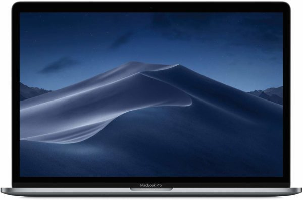 Apple MacBook Pro 2019 Model (15-Inch, Intel Core i7, 2.6Ghz, 16GB, 256GB, Touch Bar, 4 Thunderbolt3 Ports, MV902), Eng KB, Space Grey