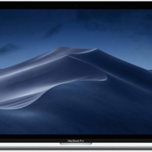 Apple MacBook Pro 2019 Model (15-Inch, Intel Core i7, 2.6Ghz, 16GB, 256GB, Touch Bar, 4 Thunderbolt3 Ports, MV922), Eng KB, Silver
