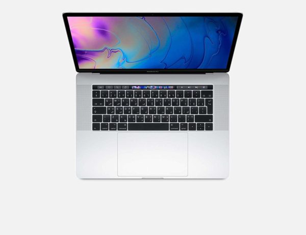 Apple MacBook Pro 2019 Model (15-Inch, Intel Core i9, 2.3Ghz, 16GB, 512GB, Touch Bar, 4 Thunderbolt3 Ports, MV932), Eng KB, Silver
