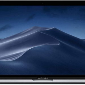 Apple Macbook Pro 13-Inch with Touchbar Mid 2019 – MV962AE 2.4Ghz Quad Core, Intel Core i5 8th Gen. Processor, 8GB Ram, 256GB SSD, English and Arabic Keyboard, Space Gray Color.