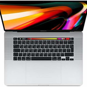 Apple Macbook Pro Touch Bar and Touch ID MVVL2 ( 2019 ) Laptop - Intel Core i7, 2.6GHz, 16-Inch, 512GB, 16GB, AMD Radeon Pro 5300M-4GB,Eng-Arb-KB, Silver, Middle East Version