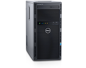 Dell PowerEdge T130 Tower Server 4x 3.5 Cabled