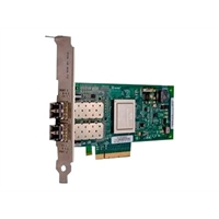 Dell QLogic 2562 Dual Channel 8Gb Optical Fibre Channel HBA PCIe, Low Profile – Kit