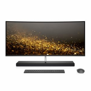 HP Envy 34 Curved QHDAll-in One Desktop PC 1TB HD 256GB SSD Ash Silver