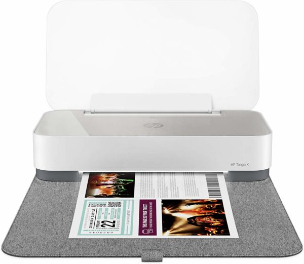HP Tango X 110-3DP65B Voice Activated, Wireless Smart Home Printer-White