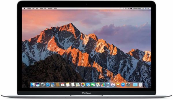 Apple Laptop 12 inches LED Laptop (Silver) - Intel i5 1.2 GHz, 8 GB RAM, 256 GB Hybrid (HDD/SDD), macOS Sierra
