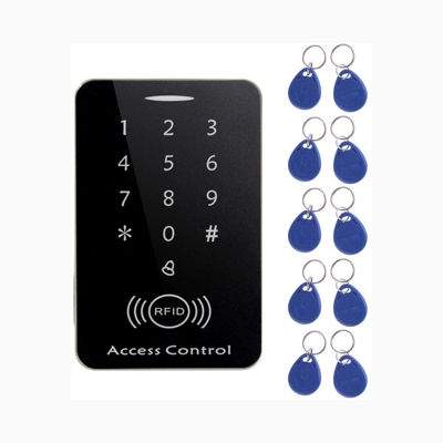 Cicaaaee M203SE RFID Standalone Touch Screen Access Control Card Reader With Digital Keypad