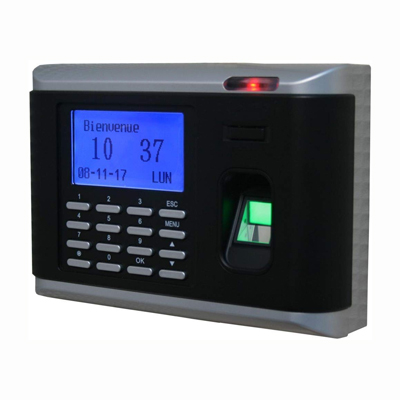 Finger Print, Card and Button type all in one Access Control and Time Attendance with Network
