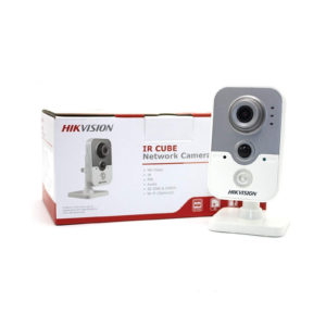 Hikvision IP Camera 4MP PoE Indoor IR Wireless WiFi Cube Camera with WDR DS-2CD2443G0-I(W)