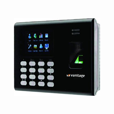 Vantage UK Fingerprint Based Time Attendance & Biometric Access Control System